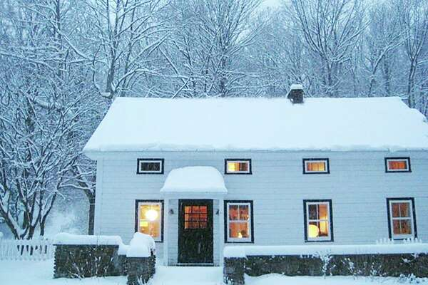 """Catskills: West Shokan, Ulster County. $165 per night. Sleeps 6. """"Watson House, 150 year old Modern."""" View full listing on Airbnb."""