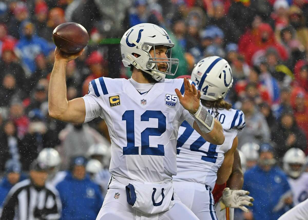 Andrew Luck, Houston Stratford (2012-present) NFL playoff record: 4-4 (Colts)