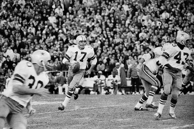 Don Meredith, Mount Vernon (1960-68)  NFL playoff record: 1-3 (Cowboys) Photo: Bettmann/Bettmann Archive