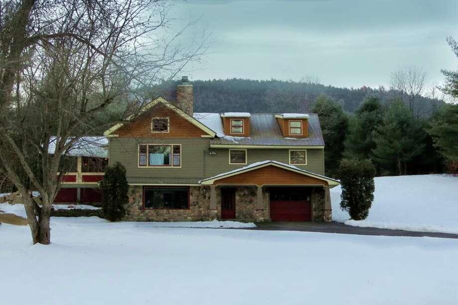 "Adirondacks: Warrensburg, Warren County. $334 per night. Sleeps 14. ""Stone's Schoolhouse on River's Bend."" View full listing on Airbnb. Photo: Airbnb.com"