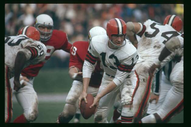 Frank Ryan, Fort Worth Paschal (1958-70)  NFL playoff record: 1-2 (Browns) Photo: Focus On Sport/Getty Images