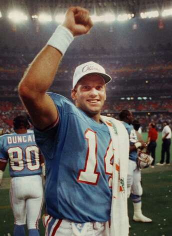 Cody Carlson, San Antonio Churchill (1988-94)  NFL playoff record: 0-1 (Oilers) Photo: Kerwin Plevka, © Houston Chronicle / HOUSTON CHRONICLE