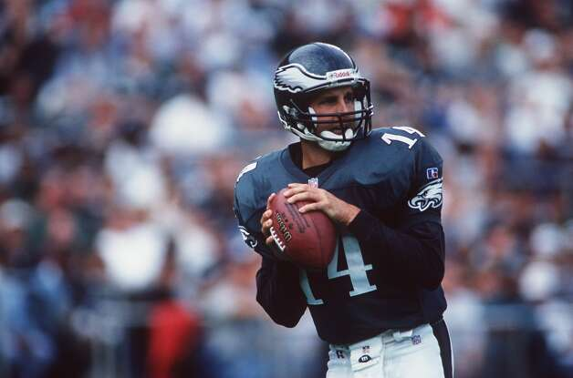 Ty Detmer, San Antonio Southwest (1993-03)  NFL playoff record: 0-1 (Eagles) Photo: Rick Stewart/Getty Images