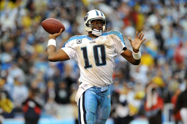Vince Young, Houston Madison (2006-2011)  NFL playoff record: 0-1 (Titans) Photo: Icon Sports Wire/Corbis Via Getty Images