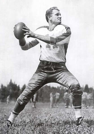Tommy Thompson, Fort Worth Paschal (1941-42, 1946-50)  NFL playoff record: 3-0 (Eagles) Photo: Pro Football Hall Of Fame