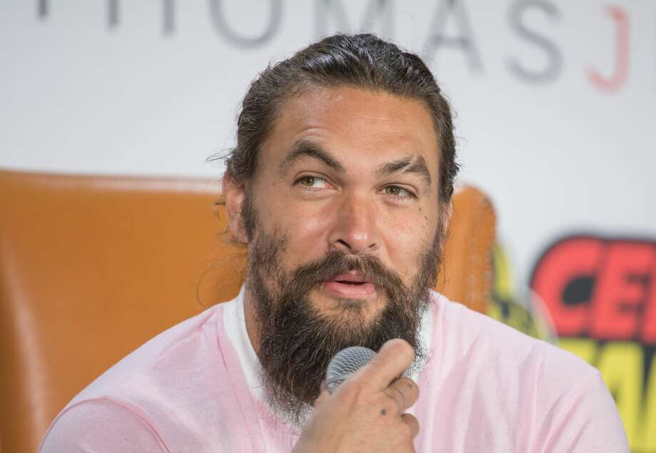 "Actor Jason Momoa attends ""Aquaman Live"" during Celebrity Fan Fest at the JW Marriott San Antonio on November 10, 2018 in San Antonio, Texas. Momoa will return to San Antonio for the 2019 edition of Celebrity Fan Fest. Photo: Rick Kern/WireImage"