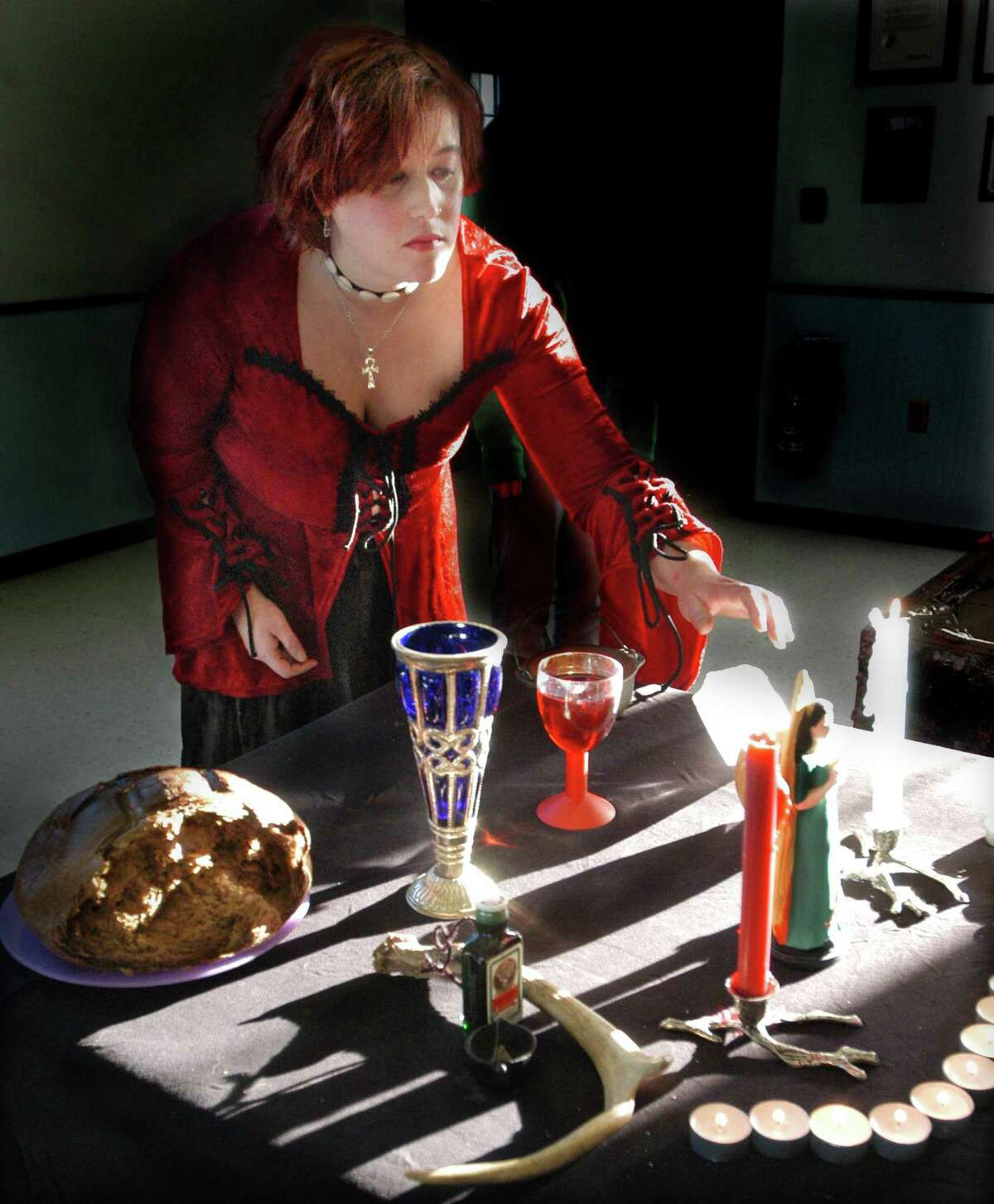A Pagan/Wiccan celebration in Derby