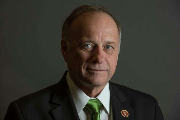 Rep. Steve King, R-Iowa, in his office in Washington, D.C.