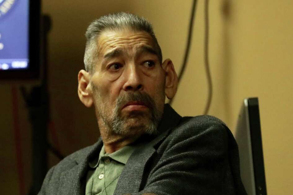 Antonio Nuñez Jr., 63, sits in Felony Impact Court on Friday. Jurors are deliberating in the case. Nuñez is accused of killing his ex-girlfriend, Lisa Carter, 47, whose burning body was discovered early one August morning in 2015 on a Southeast Bexar County road.