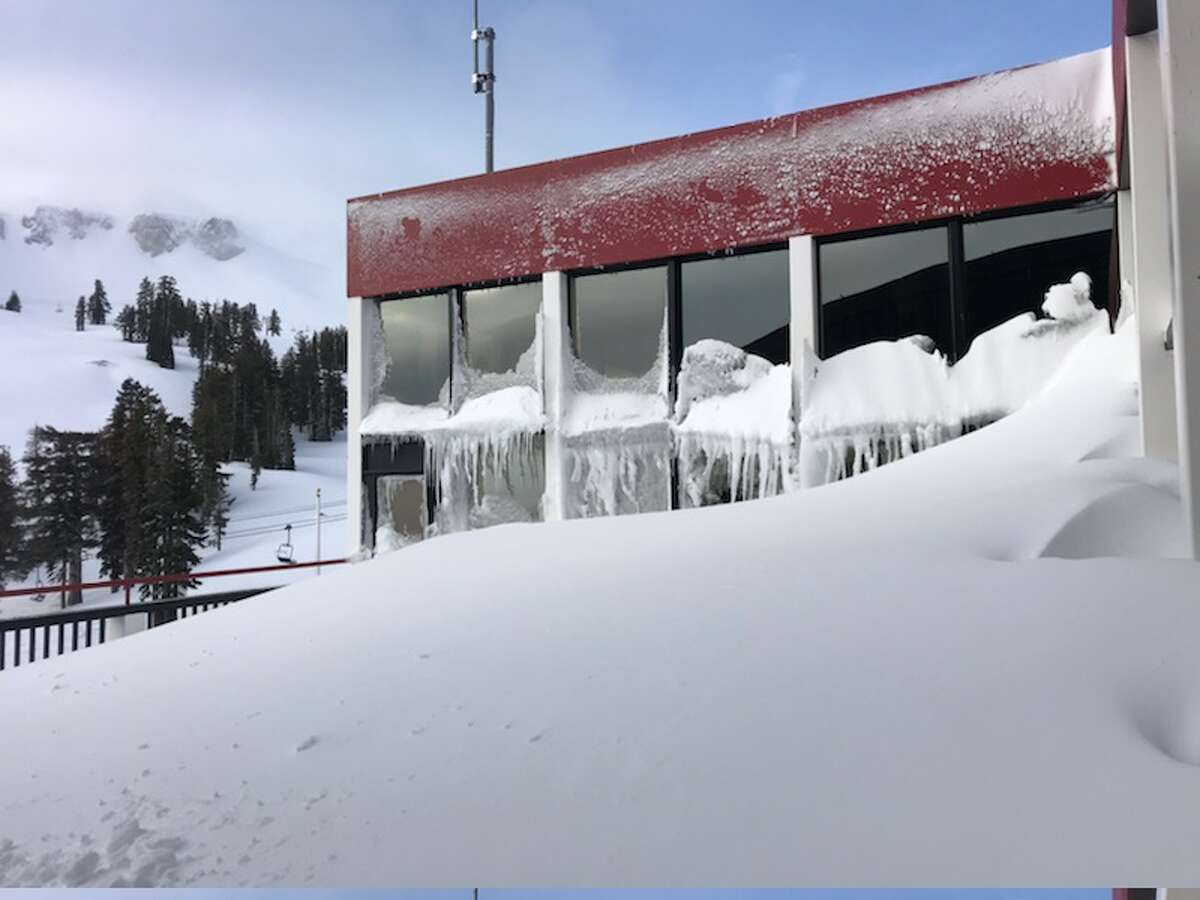 Squaw Valley Alpine Meadows reported receiving 6 feet of snow with the January storm. They received 21 inches on Jan. 17 alone in the upper mountains.