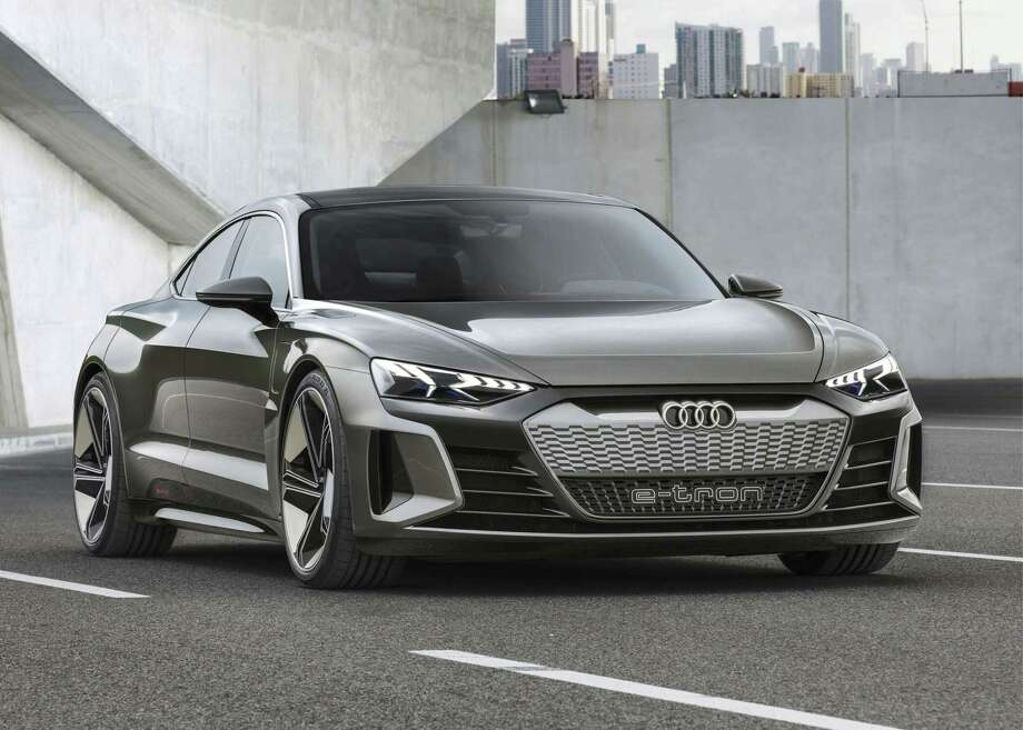 Electric motivation will be on display with vehicles like the Audi's e-tron (shown), Nissan's LEAF and the upcoming Toyota Corolla hybrid and Prius AWD. (Audi photo)