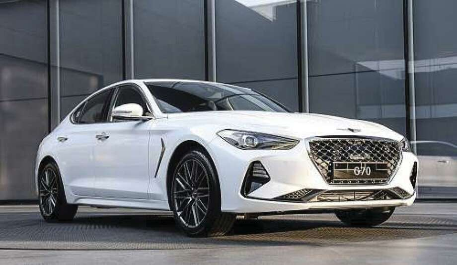 Genesis introduces the new G70 luxury performance sedan for 2019. The G70 is the brand's opening salvo in the highly competitive entry-level luxury segment, designed and engineered to offer driver-focused performance and refined luxury. (Motor Matters photo)