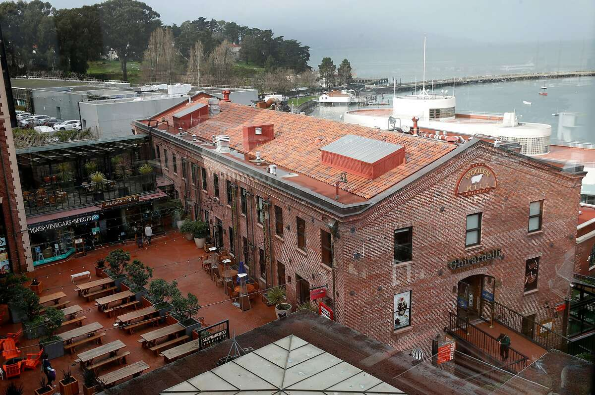 Ghiradelli Square is seen in San Francisco, Calif. on Thursday, Jan. 17, 2019.