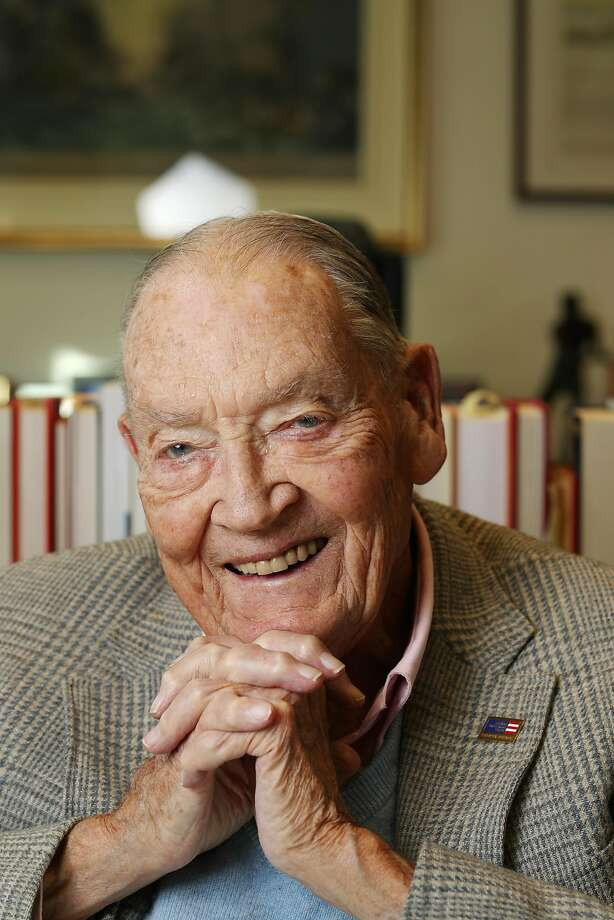 Former Vanguard CEO John Bogle Photo: David Swanson / Philadelphia Inquirer 2016