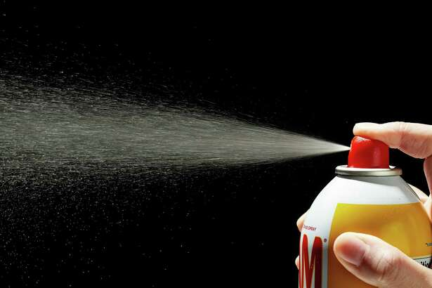 Pulling out the baking spray is easier and quicker than applying separate grease and flour layers.