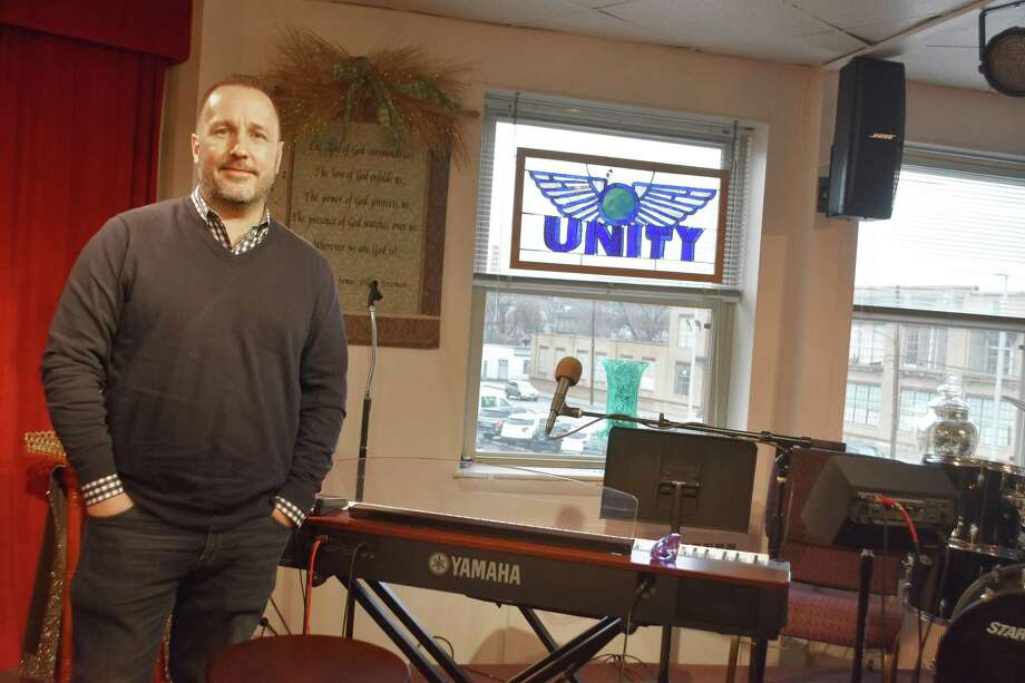 Kenneth Gartman hosts an Open Mic night at the Unity Center of Norwalk 7 p.m. Saturday, Jan. 19. Photo: Mike Horyczun / For Hearst Connecticut Media / Norwalk Hour freelance
