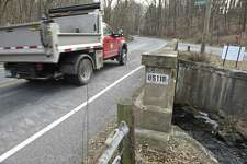The Merryall Road bridge is one of the five worst in Litchfield County. New Milford is trying to fix it by 2020 but the layout and construction of it are posing challenges. Tuesday, January 15, 2019, in New Milford, Conn.