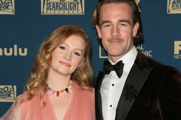 BEVERLY HILLS, CALIFORNIA - JANUARY 06: Producer Kimberly Brook (L) and Actor James Van Der Beek (R) attend the FOX, FX and Hulu 2019 Golden Globe Awards after party at The Beverly Hilton Hotel on January 06, 2019 in Beverly Hills, California. (Photo by Paul Archuleta/FilmMagic)