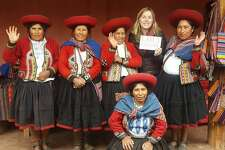 Beth Pachas, a Spanish teacher at Joel Barlow High School, is creating a website with videos of daily life in Peru. The goal is for world language teachers to use it as a resource to teach their students about Peruvian culture.