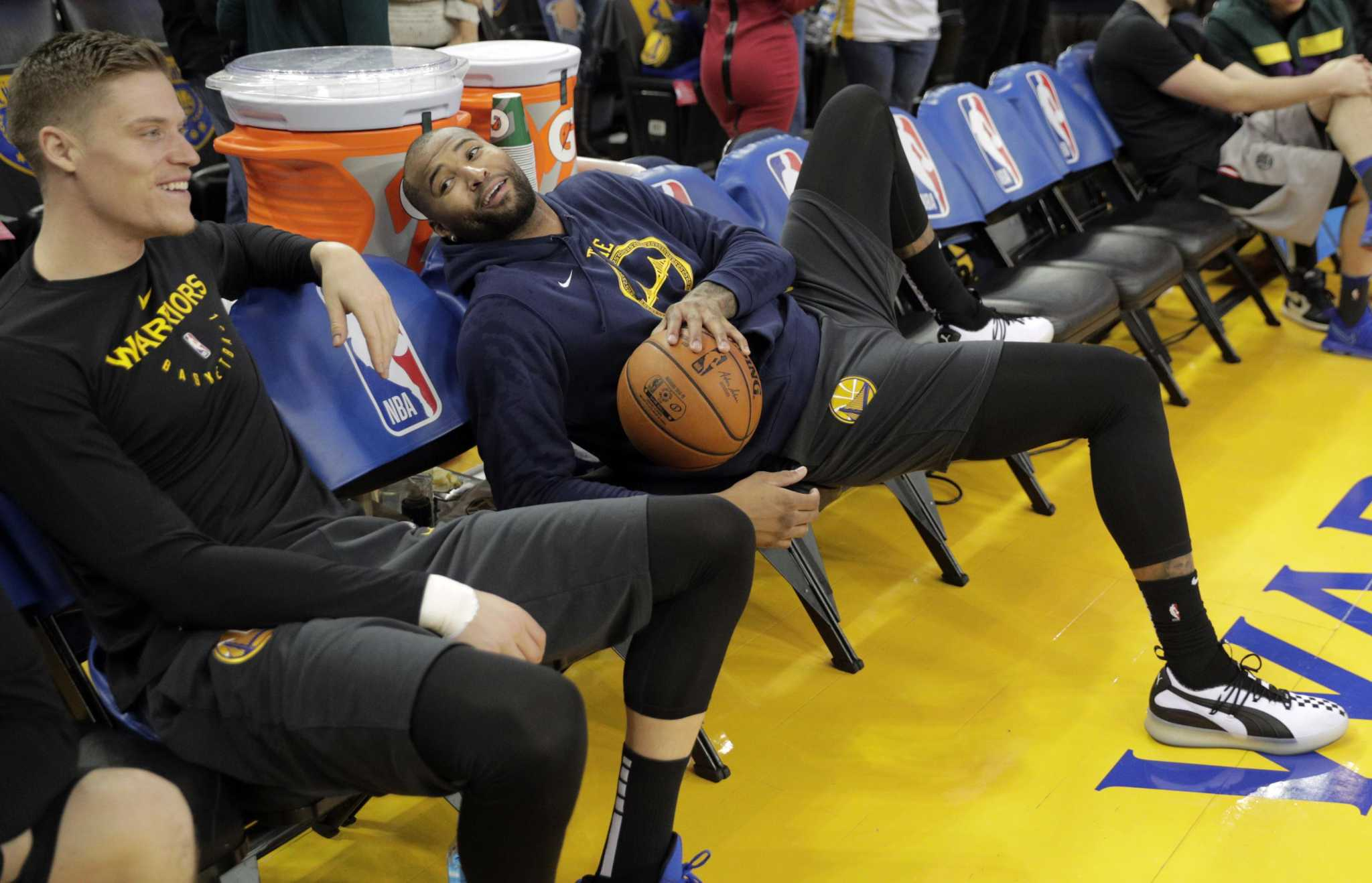 1c0b4d1a8ac Warriors temper expectations for DeMarcus Cousins  debut ...