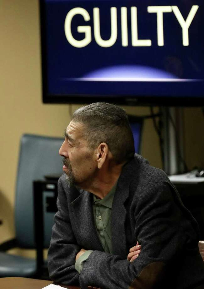 Antonio Nunez Jr., 63 sits in Felony Impact Court accused of killing his ex-girlfriend, Lisa Carter, 47, whose burning body was discovered early one August morning in 2015 on a Southeast Bexar County road, on Friday, Jan. 18, 2019. Photo: Bob Owen, Staff / San Antonio Express-News / San Antonio Express-News