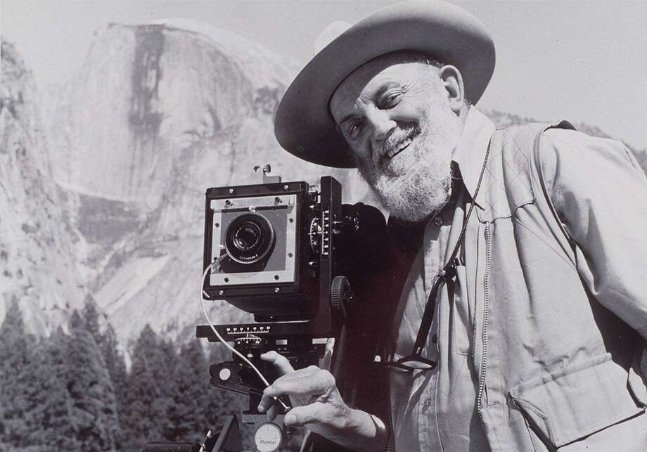 Ansel Adams in Yosemite Park. Photo: HANDOUT, HANDOUT / CHRONICLE