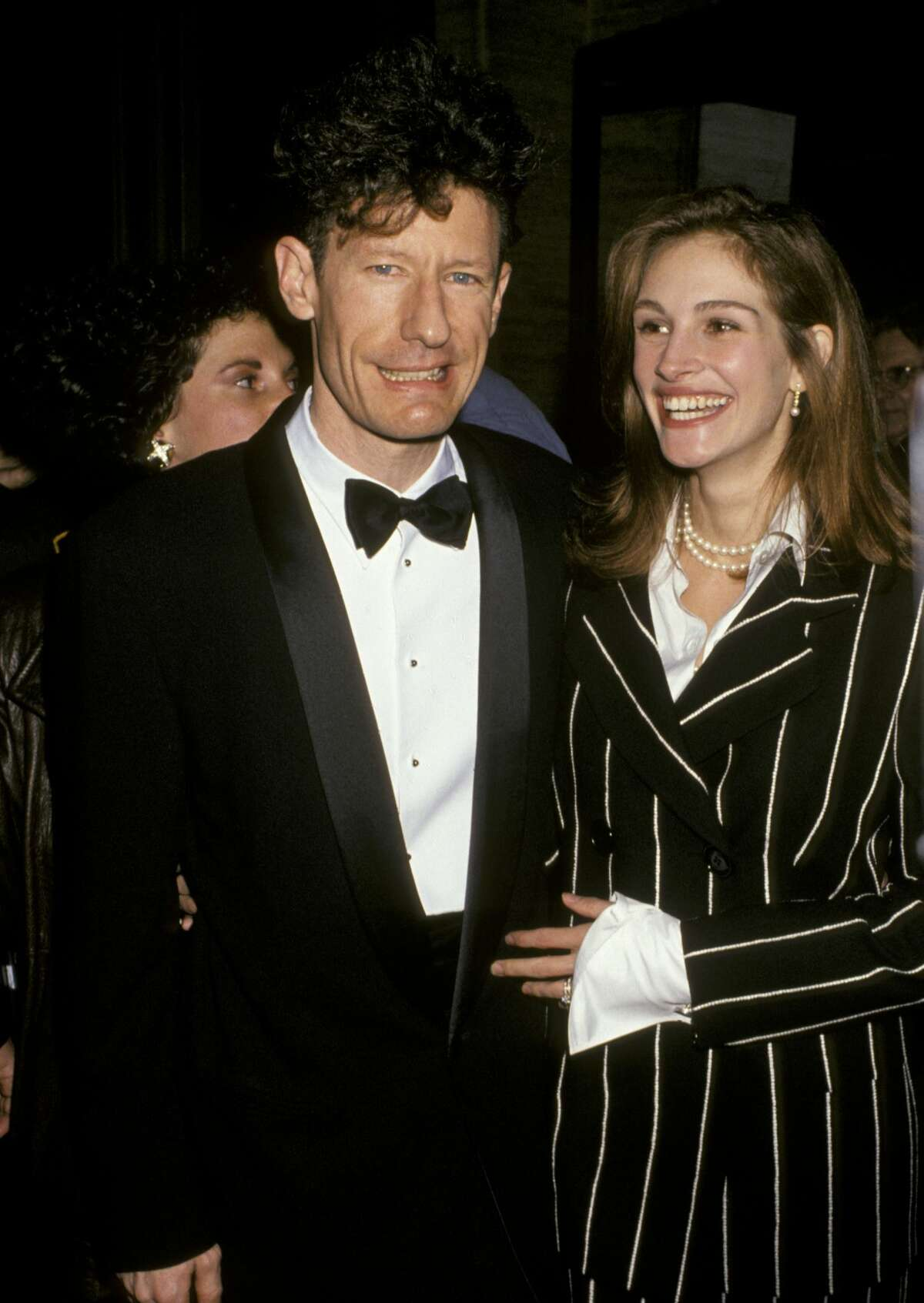 Lyle Lovett and Julia Roberts (Photo by Jim Smeal/WireImage)