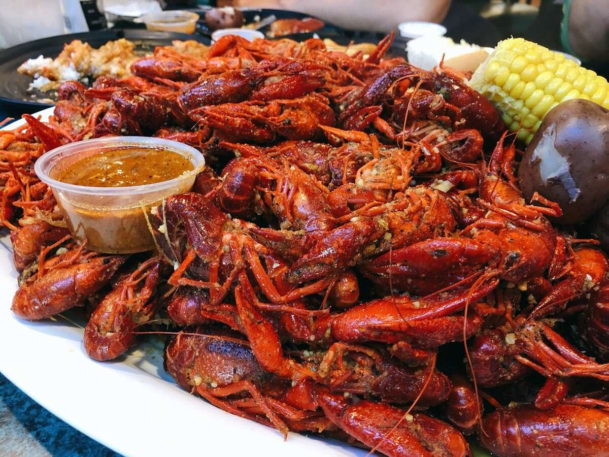 Jenivi's Seafood Shoppe & Restaurant10555 Westheimer Road,Ste. B,Houston713-978-5055Mike G's review:I love this place. During crawfish season there will be a wait because they serve the best in town. Their crack sauce is incredible....medium or spicy is your choice....I order a side of it for any and everything I get. I would suggest getting medium...it lets you appreciate the flavor without killing your mouth...I am a spicy aficionado addict and I always get medium for the taste. Photo courtesy Trina L/Yelp