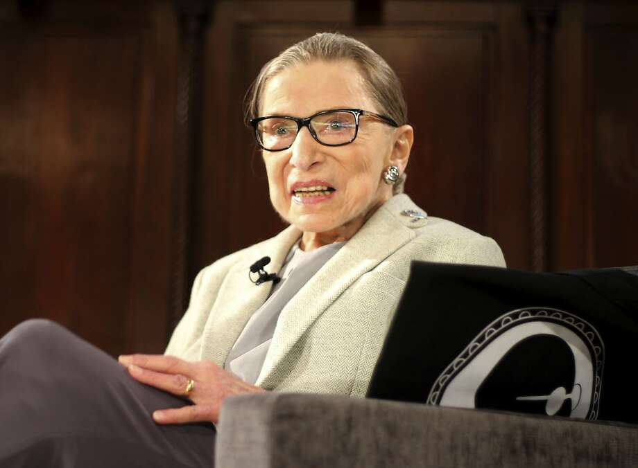 In this Dec. 15, 2018 file photo, Supreme Court Justice Ruth Bader Ginsburg appears at an event organized by the Museum of the City of New York with WNET-TV held at the New York Academy of Medicine in New York. Photo: Rebecca Gibian, Associated Press
