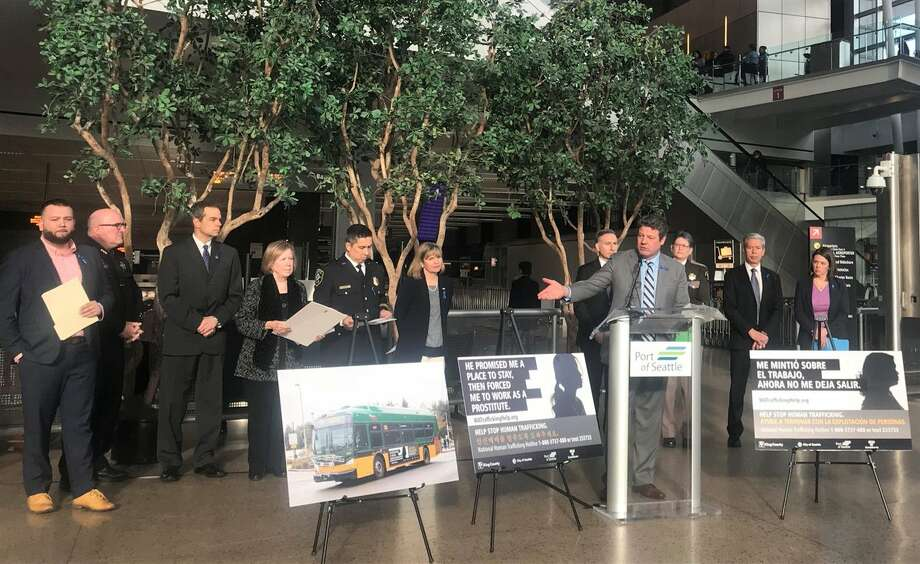 King County Council announced the launch of a public awareness campaign for human trafficking, Jan. 18. Photo: King County Council