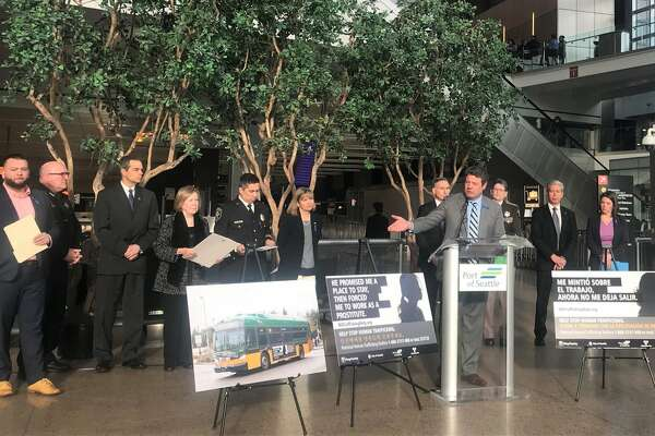 King County Council announced the launch of a public awareness campaign for human trafficking, Jan. 18.