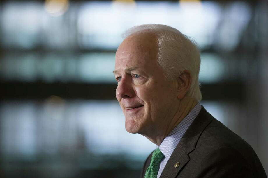 U.S. Sen. John Cornyn Photo: Alex Brandon, STF / Associated Press / Copyright 2019 The Associated Press. All rights reserved.