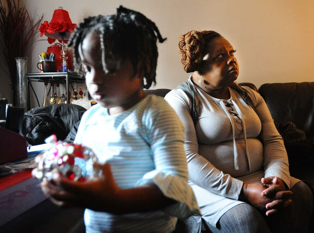 Rosetta Melton, of Bridgeport, with granddaughter, 3-year-old Alayahrose Melton, 3. She provided full time care and now continues with part time care.