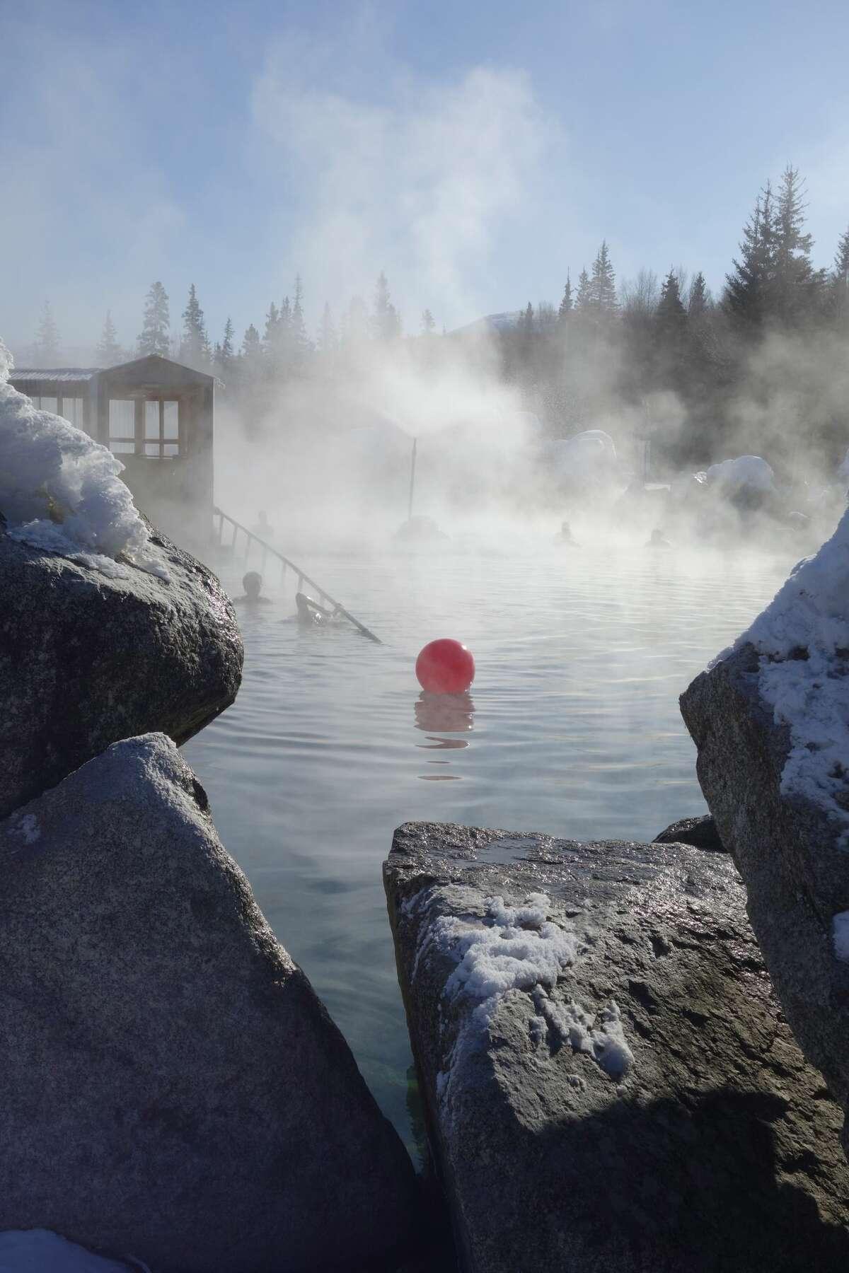 Next in the USA Today list was Chena Hot Springs near Fairbanks, Alaska.