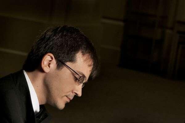 Pianist Viktor Valkov joined the San Antonio Symphony on Friday night.