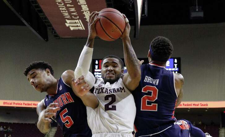Auburn put the squeeze on Texas A&M and guard TJ Starks in a win on Wednesday then called the Aggies out for not playing hard enough.