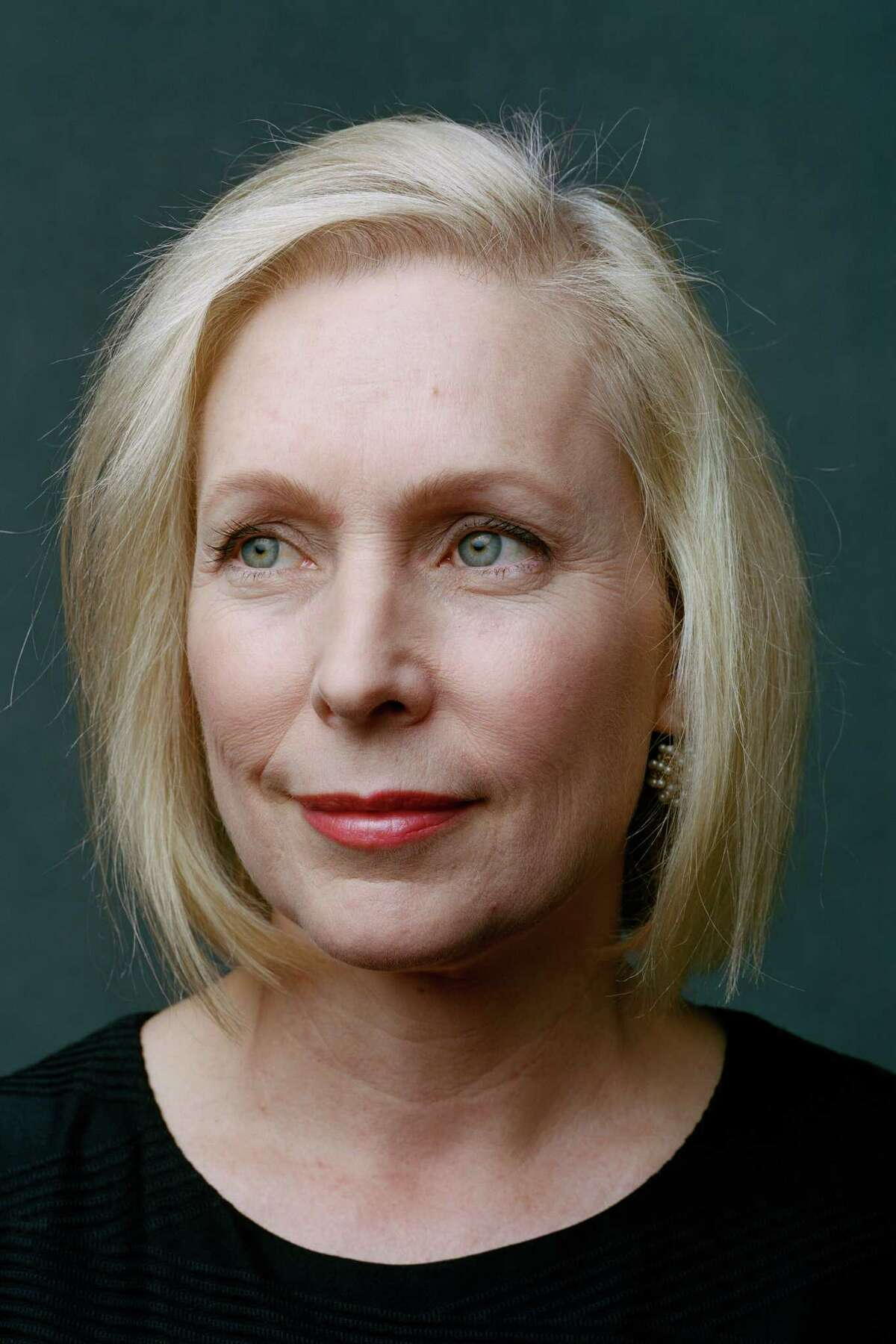Sen. Kirsten Gillibrand (D-N.Y.) poses for a portrait in Washington on Jan. 7, 2019. Just over 100 years ago, the first woman was sworn into Congress. Now a record 131 women are serving in the Legislature. (Celeste Sloman/The New York Times)