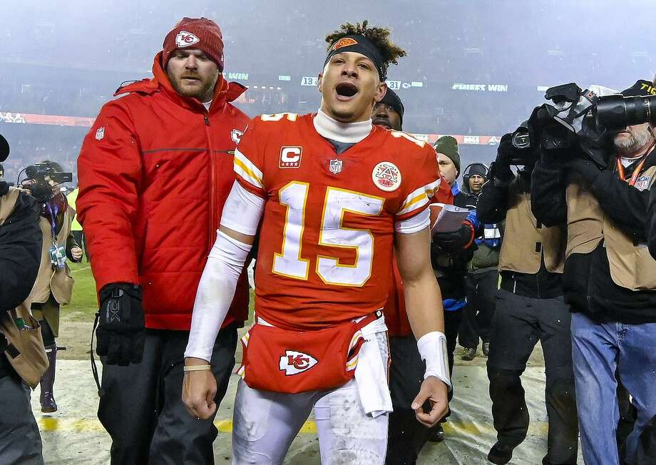 Patrick Mahomes shattered just about every franchise passing record in his first season as a starter, and his down-home style has made him a fan favorite. Photo: John Sleezer / Kansas City Star / Kansas City Star