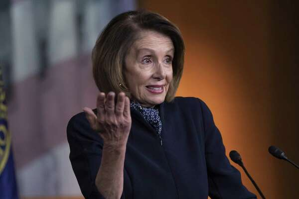 In this Dec. 13, 2018 photo, House Democratic leader Nancy Pelosi of California holds a news conference at the Capitol in Washington. Parties and Christmas cookies only soothe so much in the chilly Capitol after two years of President Donald Trump's provocations, dramas like Supreme Court Justice Brett Kavanaugh's confirmation and the elections that flipped the House majority to Democrats. Everyone wants to go home, yet both chambers were scheduled to be in session next week over hefty matters, including the budget and criminal sentencing reform. (AP Photo/J. Scott Applewhite)