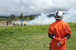 The Colombian firefighters were given training related to first-aid and Save Your Own in the vocational trip. Ruy Lozano, one of the instructors from Houston Fire Department, said in return he learnt about wildfire-suppressing techniques.