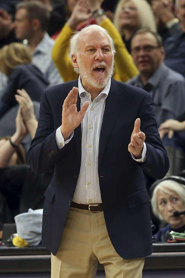 Spurs' Gregg Popovich ties NBA record for road wins