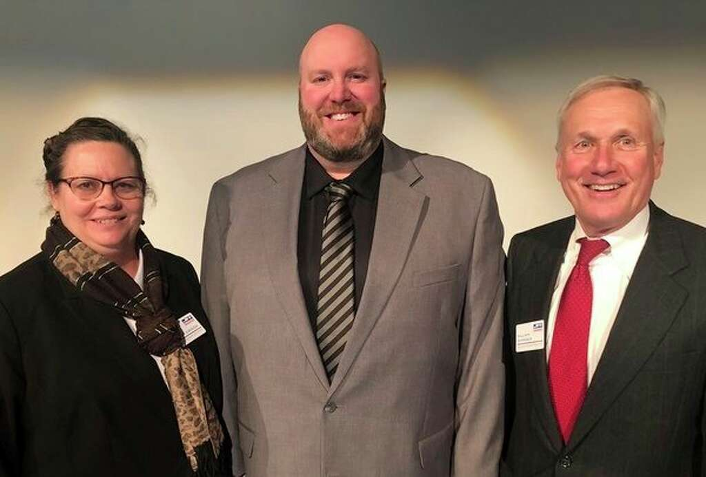 New directors to Michigan Sugar Co. are, from left, Teresa Crook of Frankenmuth, Mark Sylvester of Fairgrove and Outside Director William A. 'Bill' Zehnder of Frankenmuth. (Photo provided)