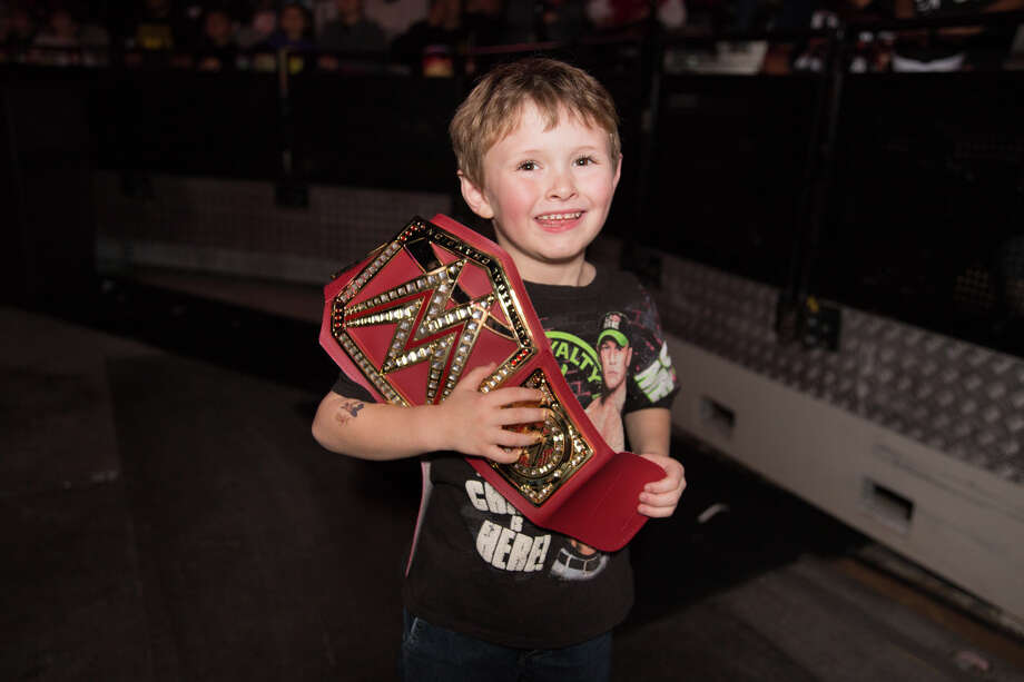 San Antonians were ready to rumble Friday night, Jan. 18, 2019, with a host of bruisers at WWE Live at the AT&T Center. Photo: B. Kay Richter For MySA
