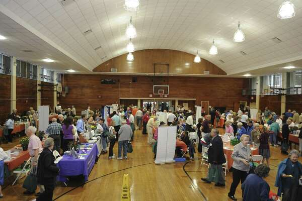 The 18th annual Senior Health Fair at the Eastern Greenwich Civic Center, Thursday, Oct. 4, 2012. One of the possible capital projects in town could be to replace the building.