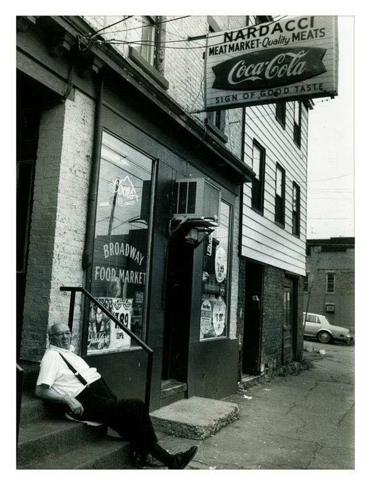 My grandparents owned a corner store and butcher shop on Broadway in Rensselaer. I stocked shelves and wasn't allowed to touch the deli slicer or adding machine.