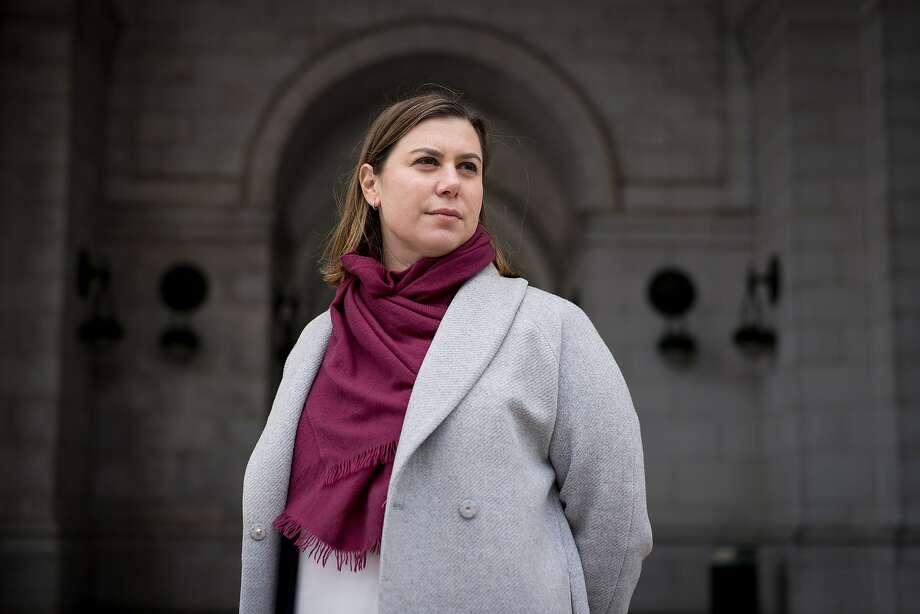 Congresswoman Elissa Slotkin (D-Mich.) outside Union Station in Washington, Nov. 13, 2018. Photo: ERIN SCHAFF, NYT