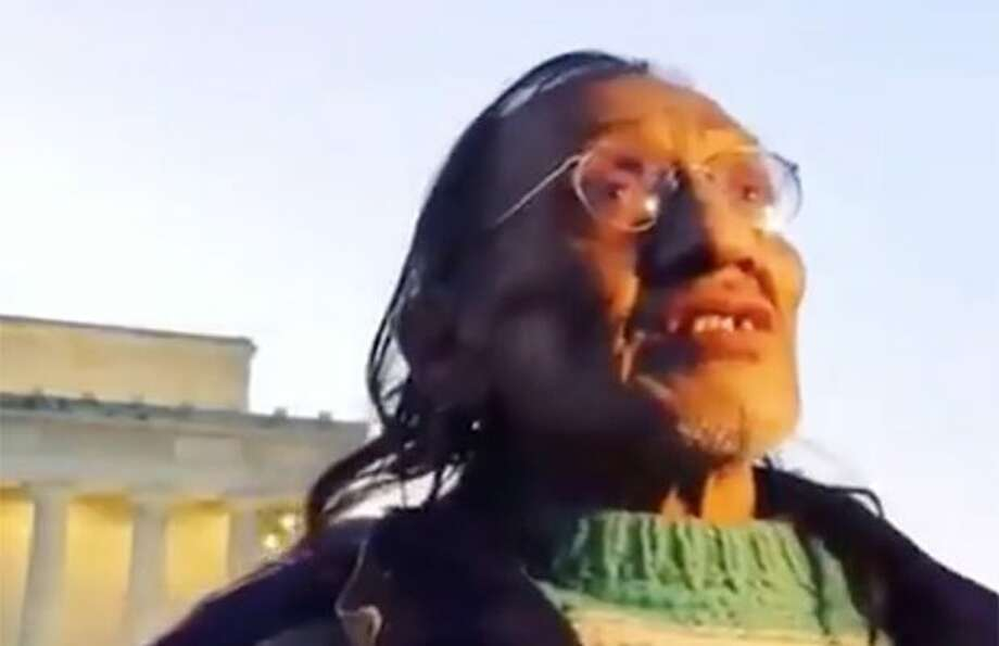 """It was getting ugly, and I was thinking: 'I've got to find myself an exit out of this situation and finish my song at the Lincoln Memorial,'"" Nathan Phillips said."