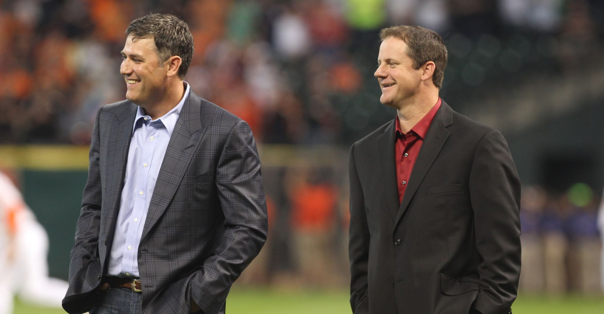 Astros greats Lance Berkman, Roy Oswalt in danger of being one-and-done in Hall of Fame balloting