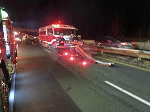 Good Samaritans help car occupants after collision on