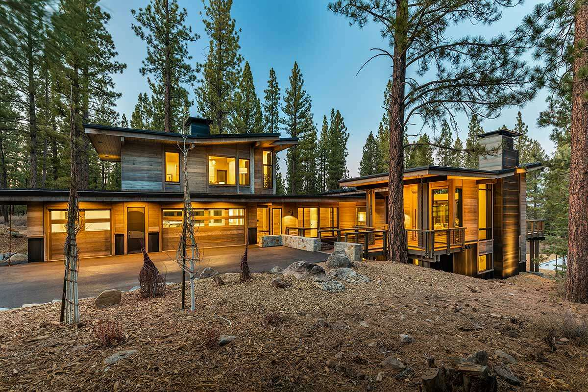 Architectural and opulent cabin in Martis Camp makes Tahoe living uber-luxurious.